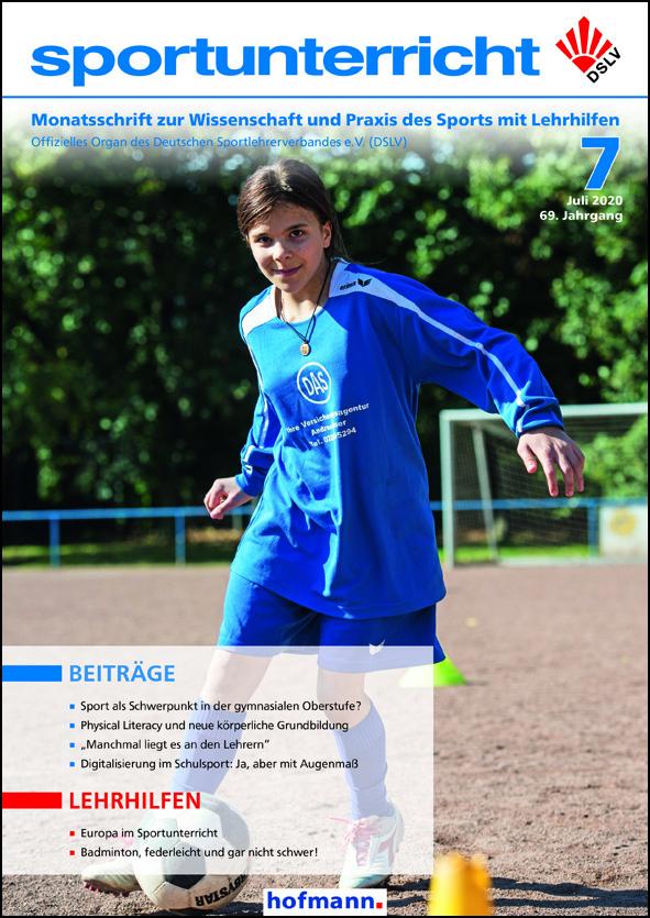 Juni Titelbild der Zeitschrift sportunterricht